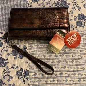 My Big Fat Wallet by MUNDI Brand New w Tags Bronze